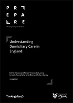 Understanding Domiciliary Care In England - cover image