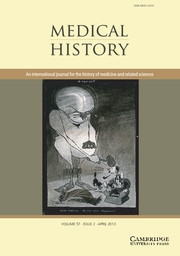 Medical History Cover April