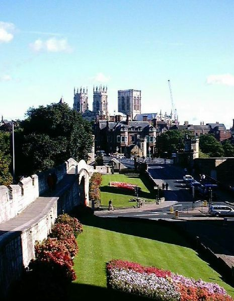 York Minster viewed from the City Wall, Ian Day