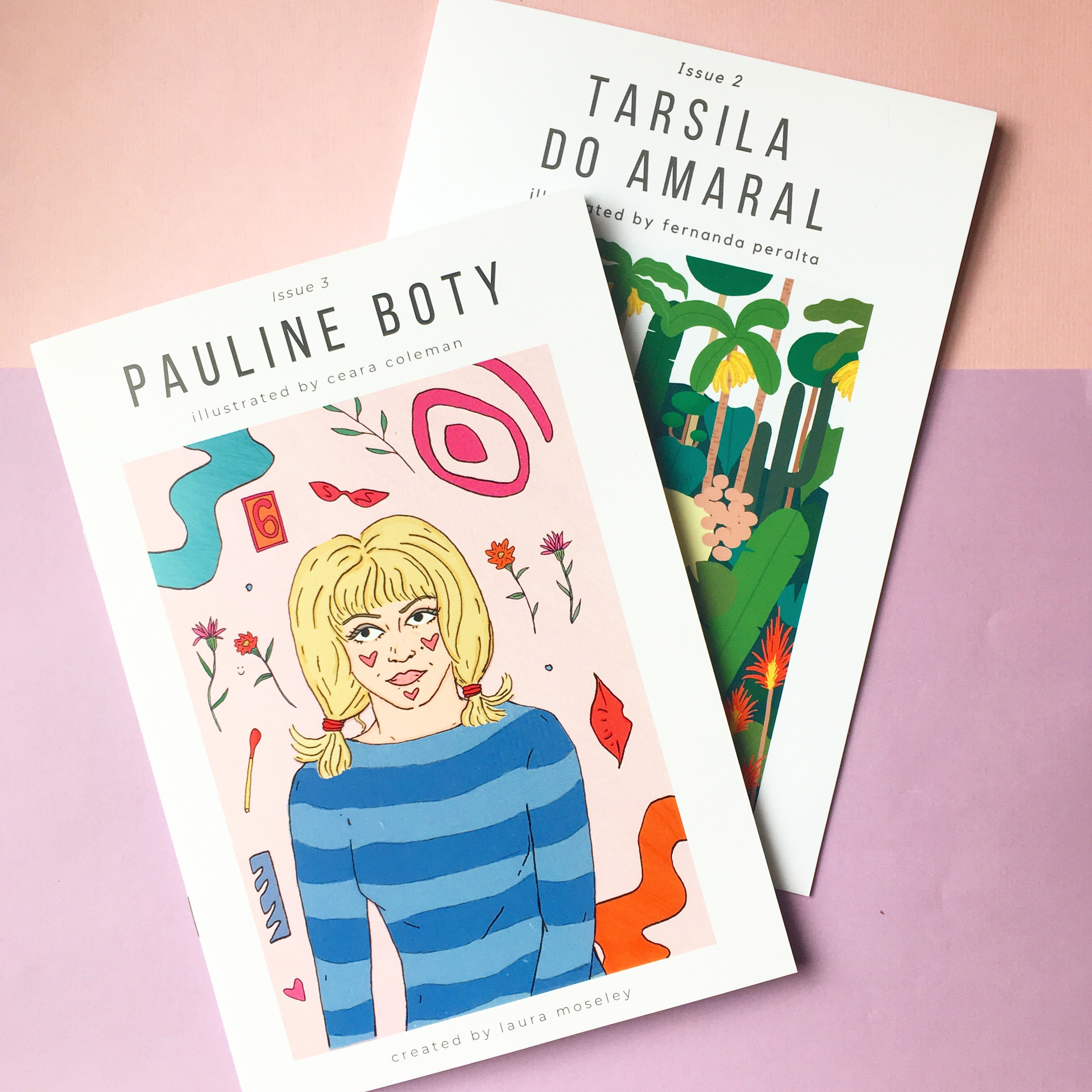 Laura Mosely zines