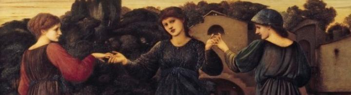 Burne-Jones' The Mill Detail