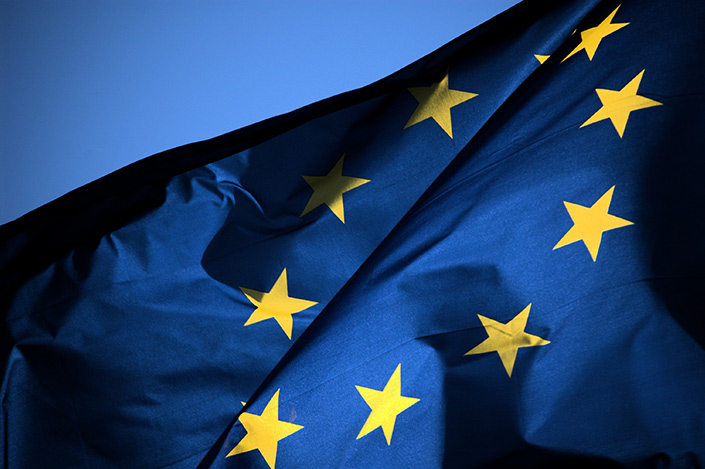 Bandiera dell'Unione (EU Flag). Credit: Giampaolo Squarcina/Flickr (CC BY NC ND 2.0).