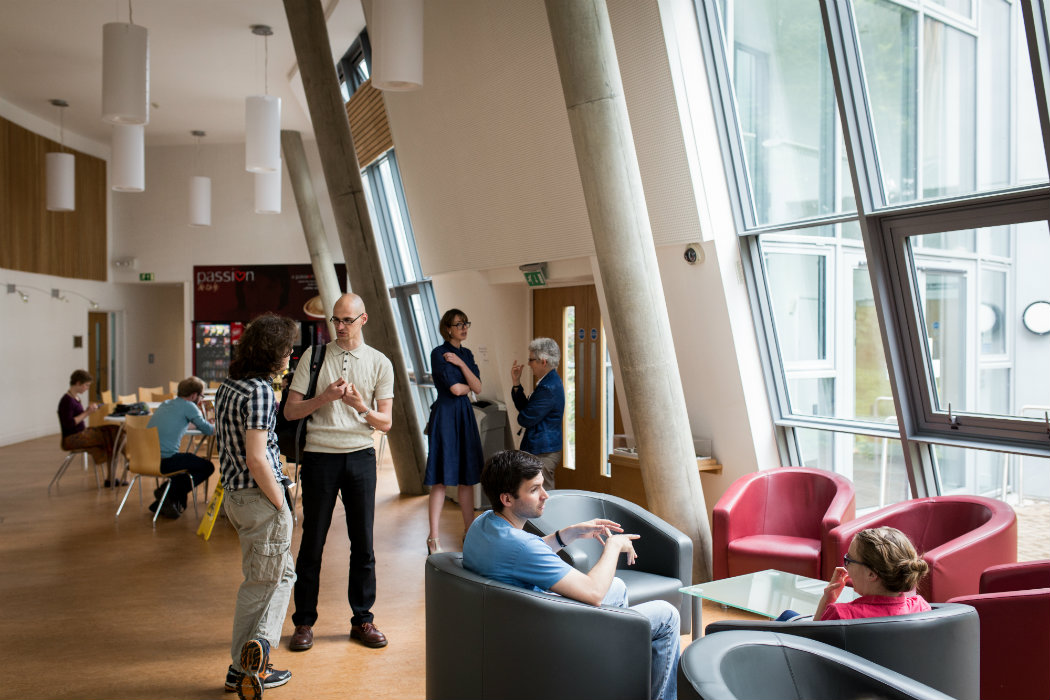 Image: Berrick Saul Building foyer and social space