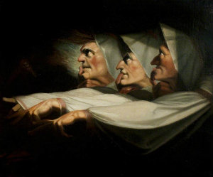 Fuseli - The Weird Sisters, 1783