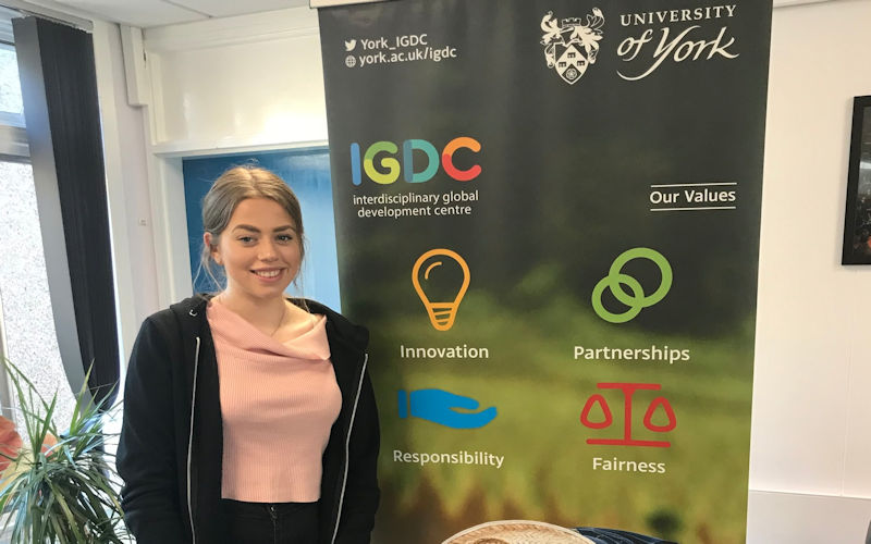 Igdc Work Experience Elise Interdisciplinary Global Development Centre University Of York