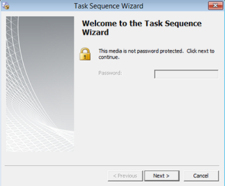 Task Sequence Wizard