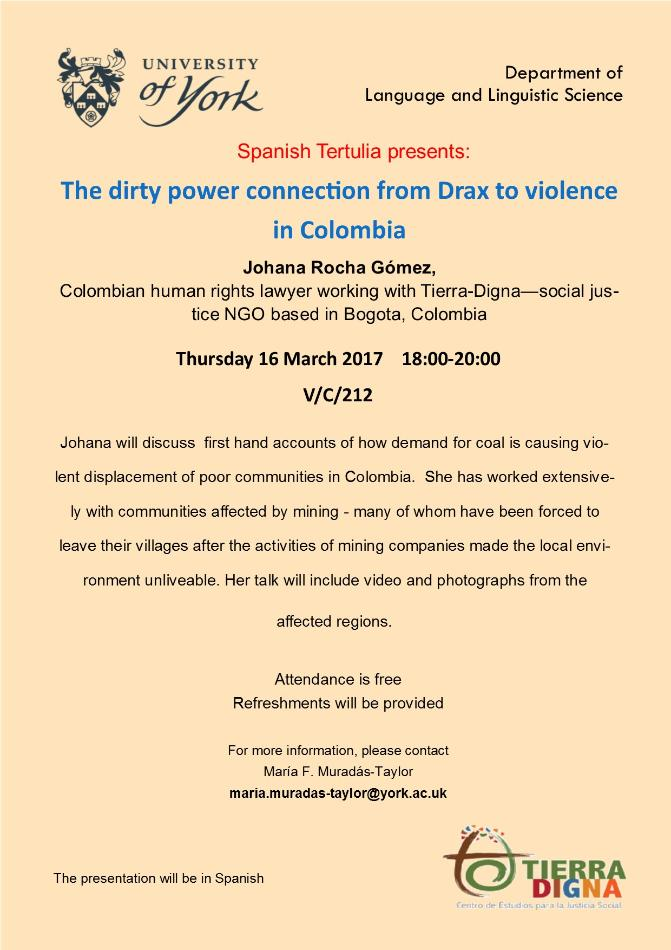 The Dirty Power Connection From Drax To Violence In Colombia