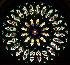 Image of the York Minster Rose Window