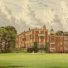 Temple Newsam House at Leeds from Morris's Country Seats (1880).