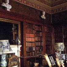 The Spanish Library at Harewood House