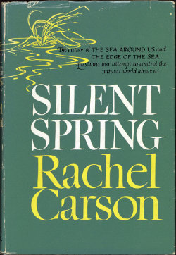 Front cover of 'Silent Spring' by Rachel Carson