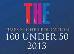 Times Higher Education 100 Under 50 2013