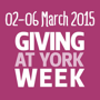 02-06 March 2015 - Giving at York Week
