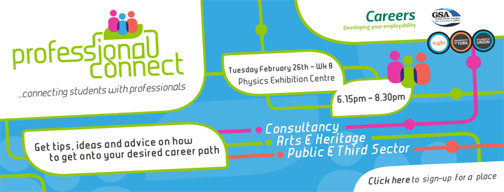 Professional Connect event, Spring 2013