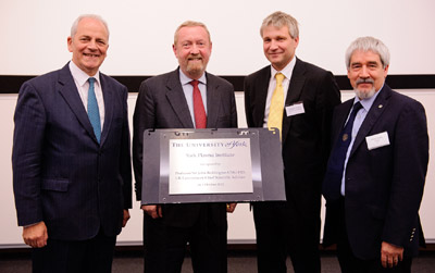 Professor Brian Cantor, Professor Sir John Beddington, Professor Howard Wilson and Professor David Delpy