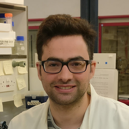 Dr Benjamin Lichman smiling in the lab.