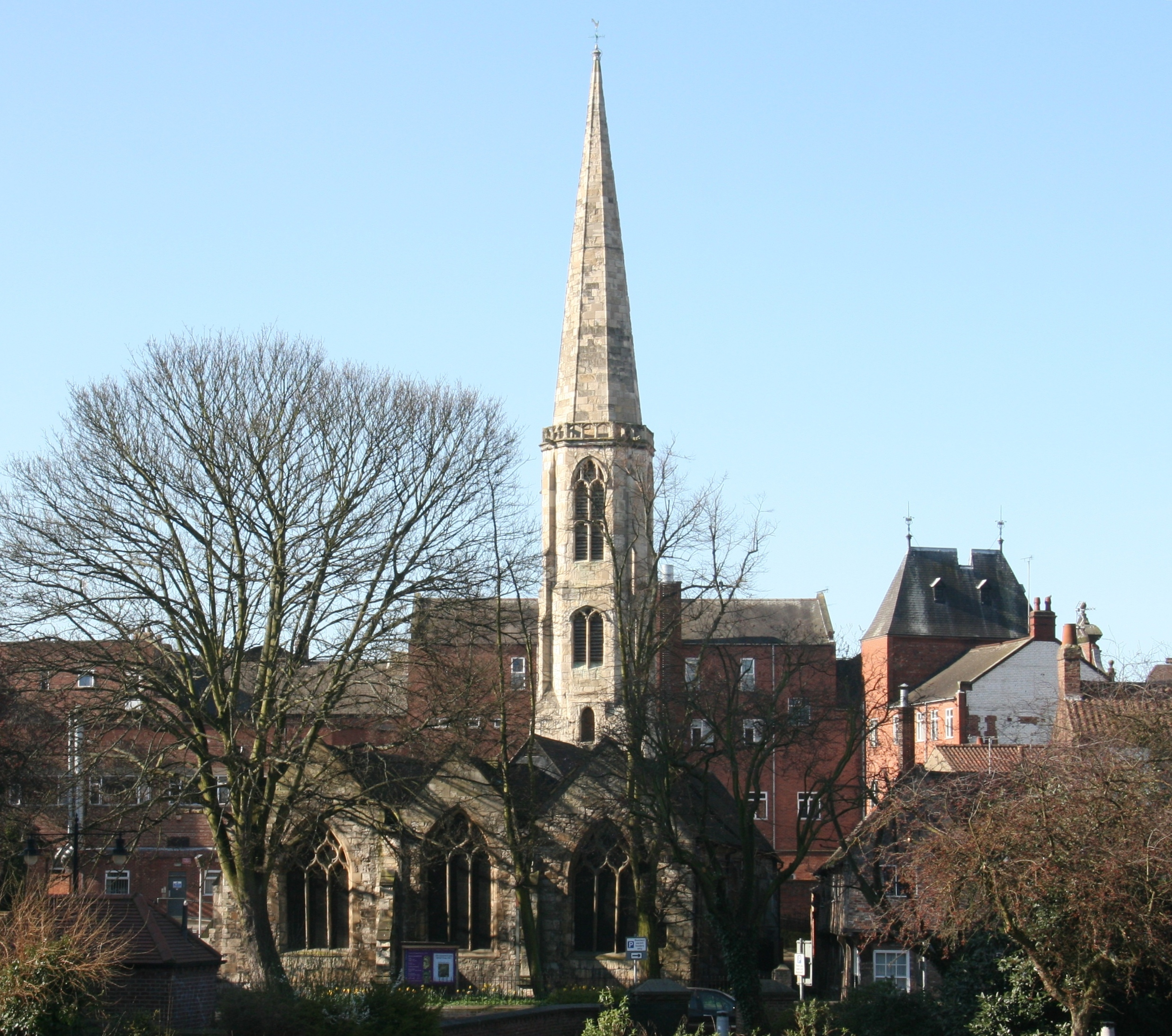 Image: All Saints Church, North Street, York, where John Snow was christened. Photo courtesy of All Saints Church
