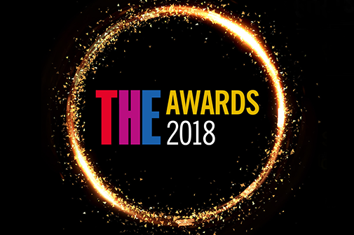 Times Higher Education Awards 2018 logo