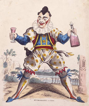 Grimaldi as Clown, c. 1810