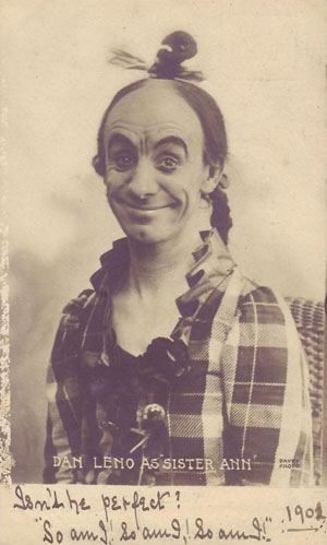 Dan Leno as Sister Ann
