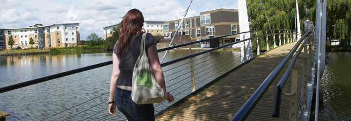 University of York student on campus