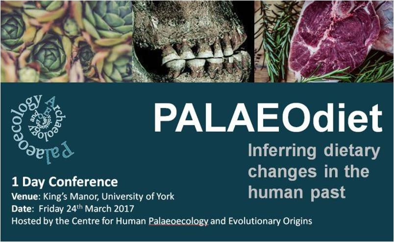 Palaeo diet meeting banner
