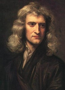 Godfrey Kneller's 1689 portrait of Sir Isaac Newton aged 46