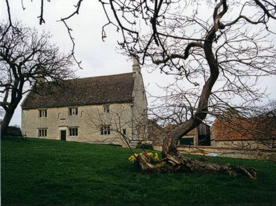 The apple tree at Woolsthorpe Manor, pictured in 1998.