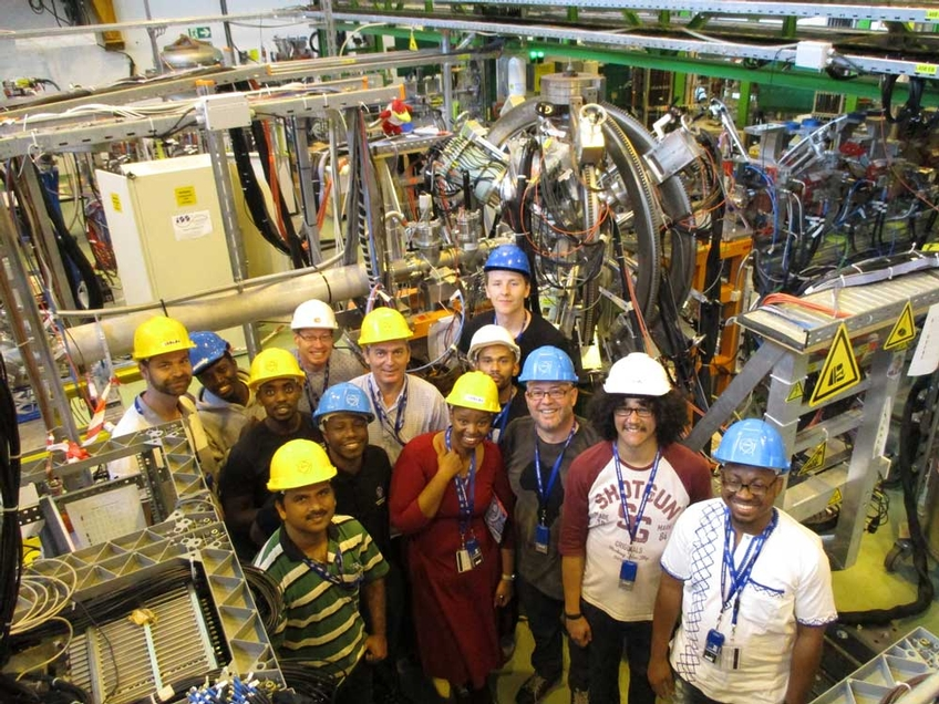 Prof David Jenkins supports African-led experiment at CERN