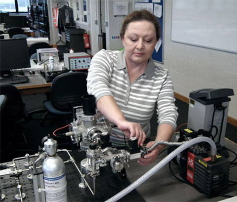 Olga Rowe - Senior Teaching Laboratory Technician, Department of Physics