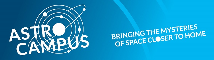 Astrocampus Banner with tagline