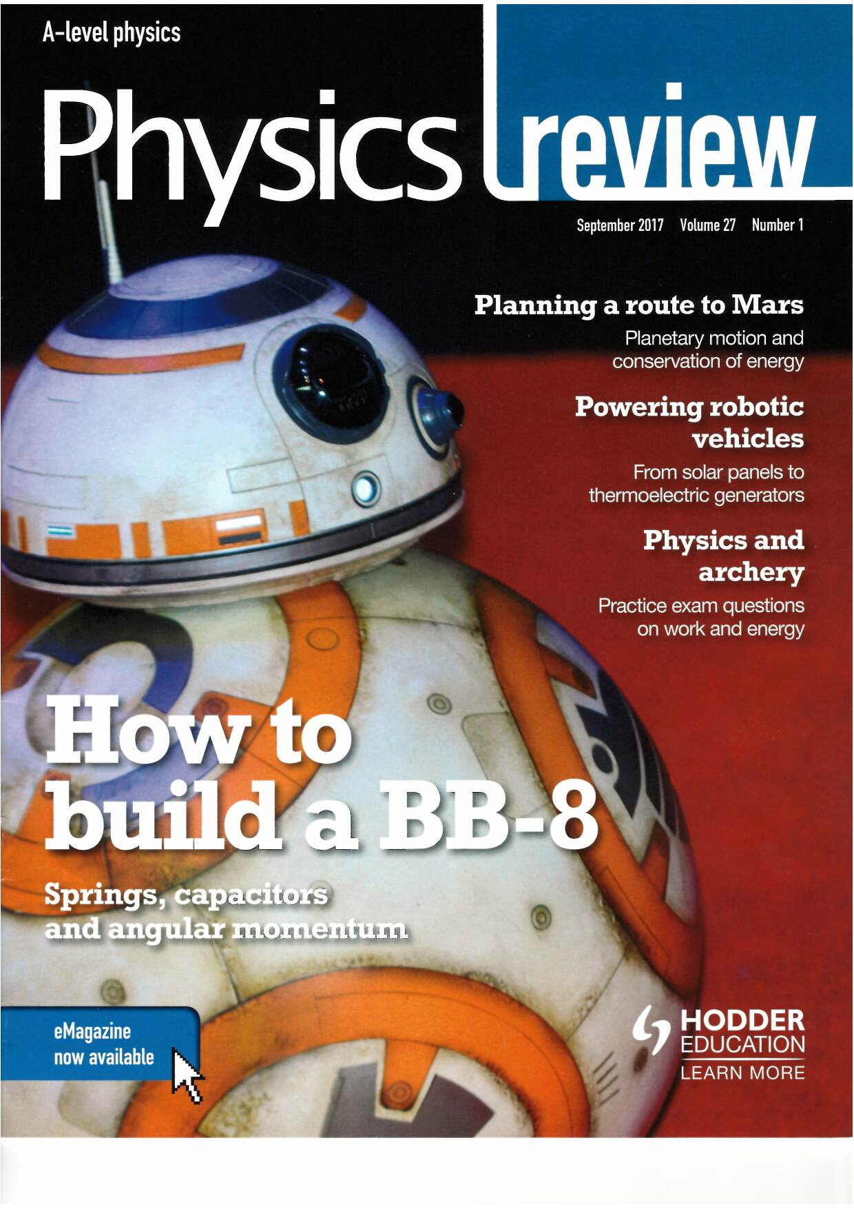 Covers and Contents Search - Physics, The University of York