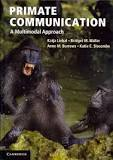 Primate Communication book cover
