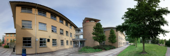 This image shows the outside buling of the york university psychology department