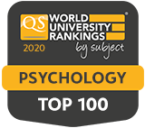 QS World University Rankings by subject Psychology top 100