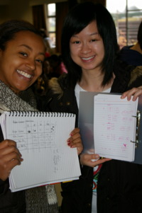 Students with results