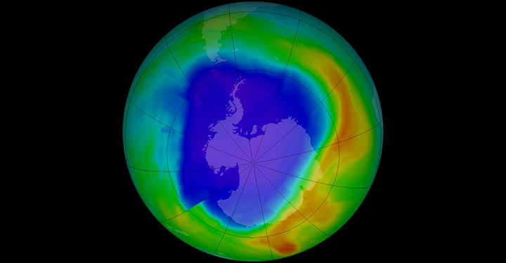 an analysis of ozone layer in earth Nasa satellite observations have provided the first evidence the rate of ozone depletion in the earth's upper atmosphere is decreasing this may indicate the first stage of ozone layer recovery from an analysis of ozone observations from nasa's first and second stratospheric aerosol and gas.