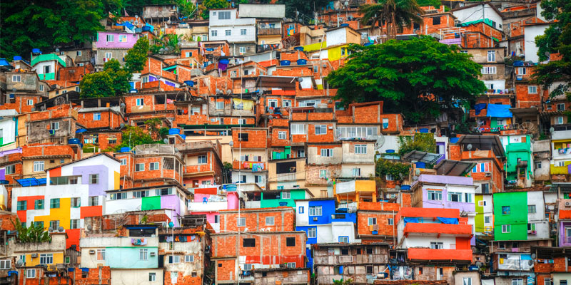 Favelas in Brazil
