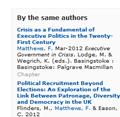 Discover publications by the same authors from the right-hand side of publications pages
