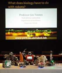 Royal Society Summer Science Exhibition Talk - Robots - Small