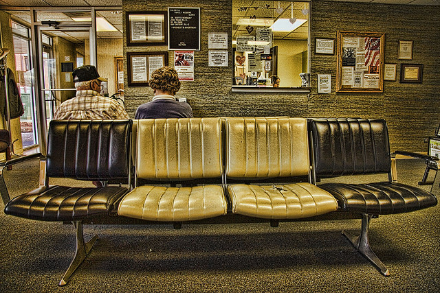 The Waiting Room by Carol Von Canon cc