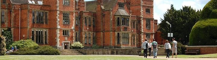 Heslington Hall in the Summer