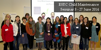 ESRC Child Maintenance Seminar 3 - 27 June 2014 - Delegate photo