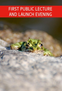 First public lecture and launch event - Picture of a frog