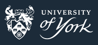 The white version of the University logo.
