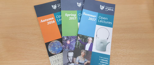 open lectures leaflets