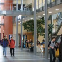 The three-wing Department of Biology building has state-of-the art laboratories and a ground-breaking central technology 'hub', housing specialist equipment