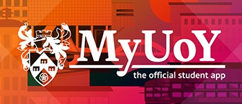 My UoY | The official student app