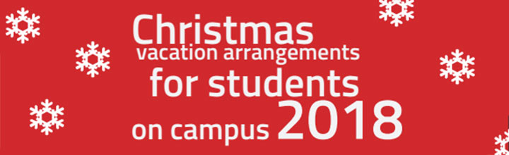 Christmas on campus