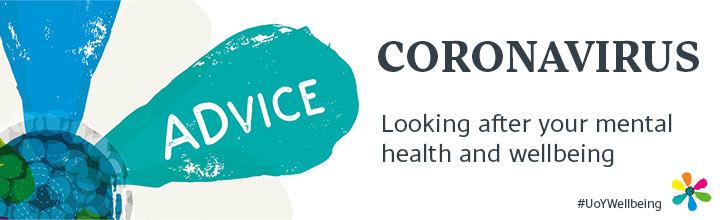Coronavirus: Looking after your mental health and wellbeing